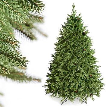 Künstlicher Tannenbaum 180.Decoking Premium Serie 180 Cm Künstlicher Tannenbaum Weihnachtsbaum Fichte Metallfuß Super Qualität Alpen Fichte
