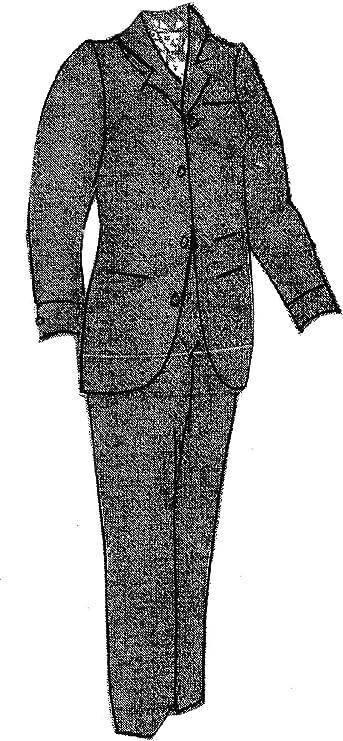 Victorian Sewing Patterns- Dress, Blouse, Hat, Coat, Men's 1894 Mens Brown Sack Suit Pattern $17.50 AT vintagedancer.com