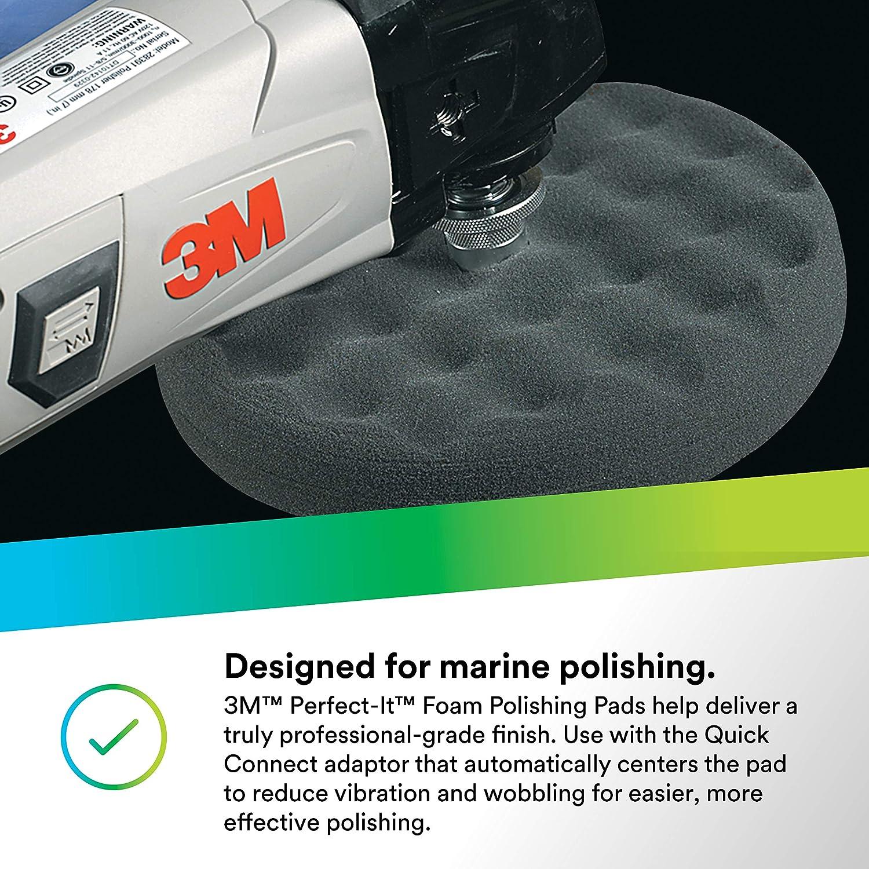 2 pads per bag 3 in 05726 3M Perfect-It Foam Polishing Pad