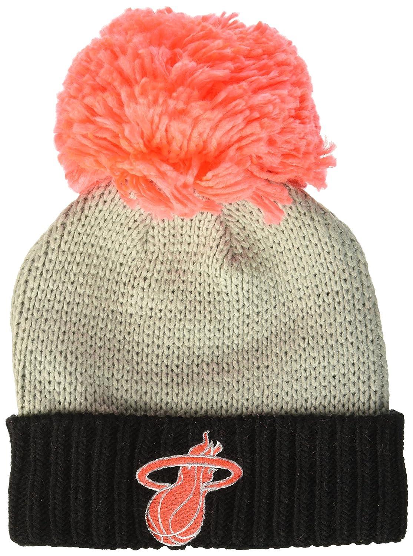 17914a87810 Amazon.com   NBA Atlanta Hawks Women s Cuffed Knit Hat with Neon Pom ...