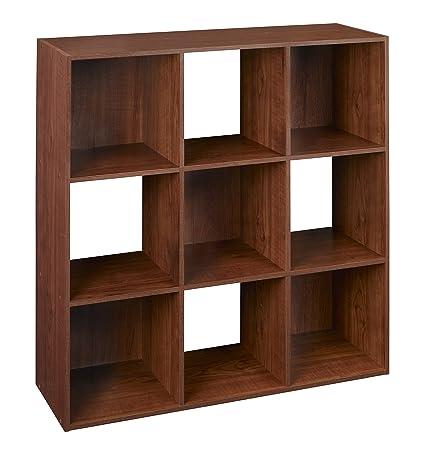 Amazon Closetmaid 4105 Cubeicals Organizer 9 Cube Dark Cherry