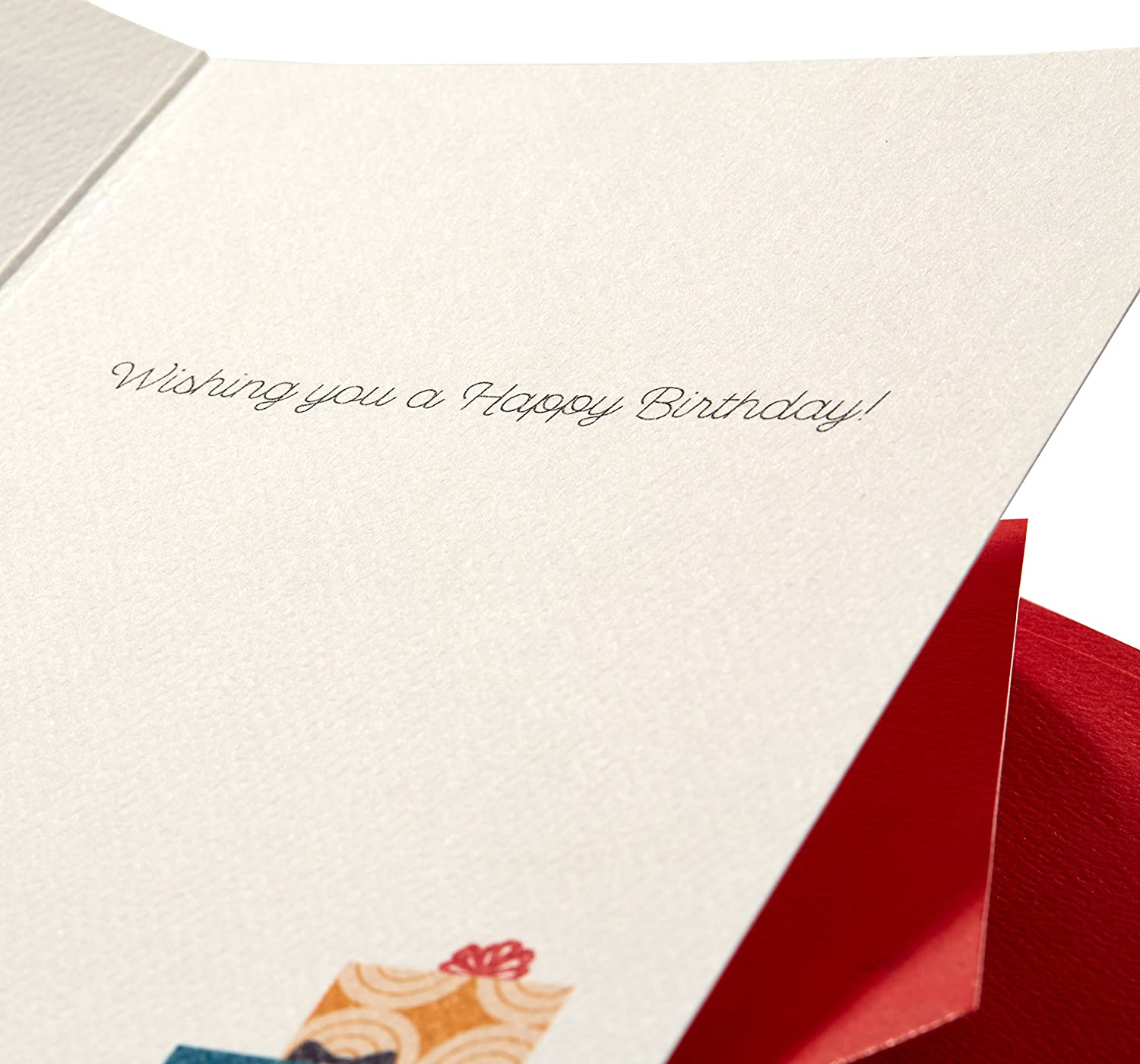 happy birthday premium greeting card with