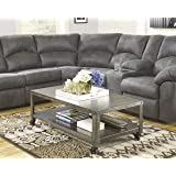 Signature Design by Ashley T560-1 Hattney Collection Coffee Table, Gray