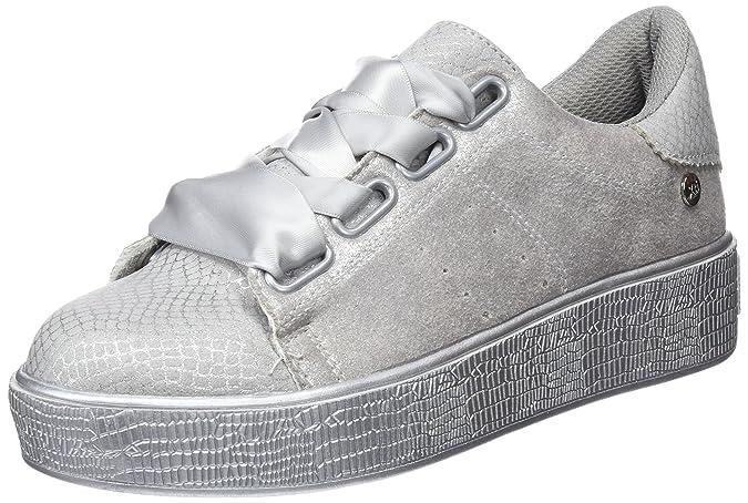 47747, Zapatillas para Mujer, Blanco (Hielo), 40 EU Xti