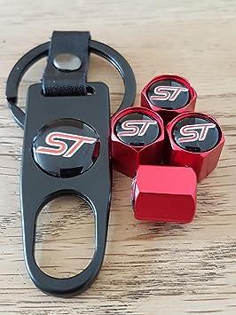 Tapón antipolvo para válvula de rueda de ST Ford, color negro