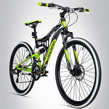 BERGSTEIGER Kodiak Bicicleta de montaña, ruedas de 26 pulgadas, adecuada a partir de 150
