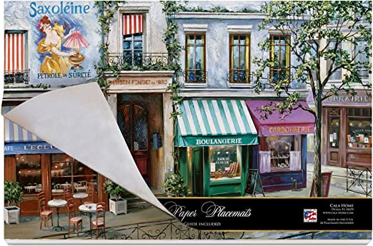 Set of 4 CALA Home Village Square Placemats