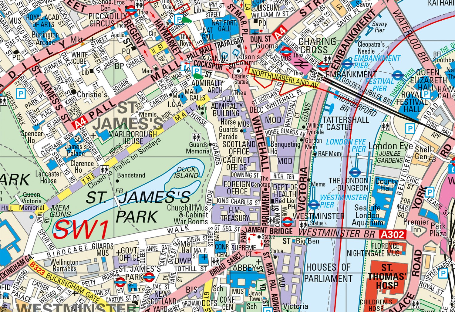 Map To London.Collins Handy Street Map London Amazon Co Uk Collins Maps