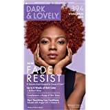 Permanent Hair Color by Dark and Lovely Fade Resist I Up to 100% Gray Coverage Hair Dye I Vivacious Red 394 I SoftSheen…
