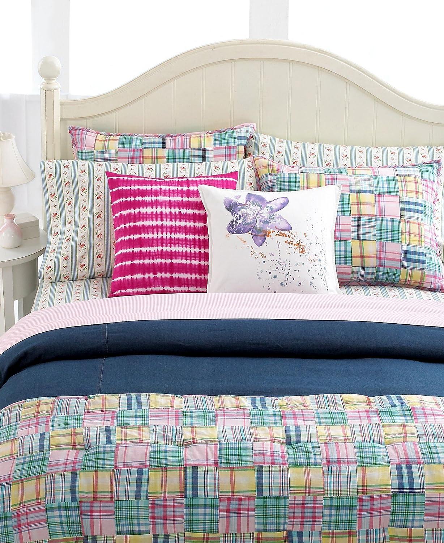 Ralph lauren plaid bedding - Amazon Com Lauren By Ralph Lauren Bedding University Madras Plaid Carly Standard Sham Home Kitchen