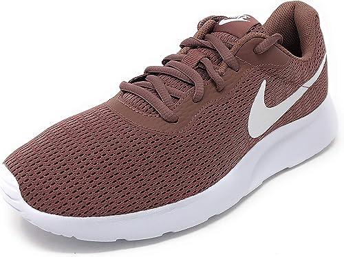 Nike Damen WMNS Tanjun Sneakers, Mehrfarbig (Smokey MauveWhite 001), 43 EU