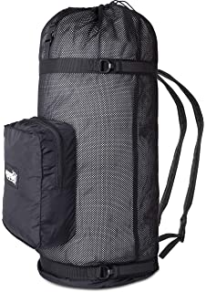 Swimming and Sports Equipment Toy Dreamseeker Large Capacity mesh Duffle Bag Beach Storage Bag with Shoulder Strap for Scuba Diving Snorkeling