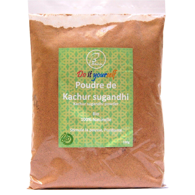 Balla - Polvo ayurvédico de Kachur sugandhi (100 g ...