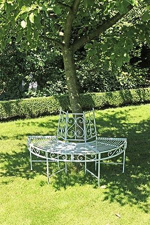 Garden Pleasure Metal algodón Banco Varda Banco de jardín Asiento ...