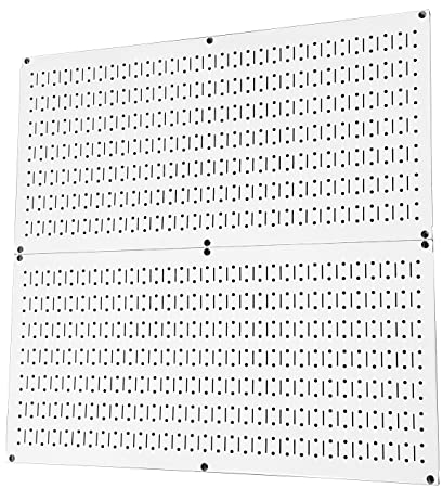 White peg boards Peck Amazoncom Wall Control Pegboard Rack Steel Pegboard Pack White Peg Boards Two 32inch 16inch White Metal Pegboard Panels Home Kitchen Amazoncom Amazoncom Wall Control Pegboard Rack Steel Pegboard Pack White Peg