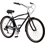 "Schwinn Men's Del Sur Cruiser 27.5"" Wheel Bicycle, Black, One Frame Size"