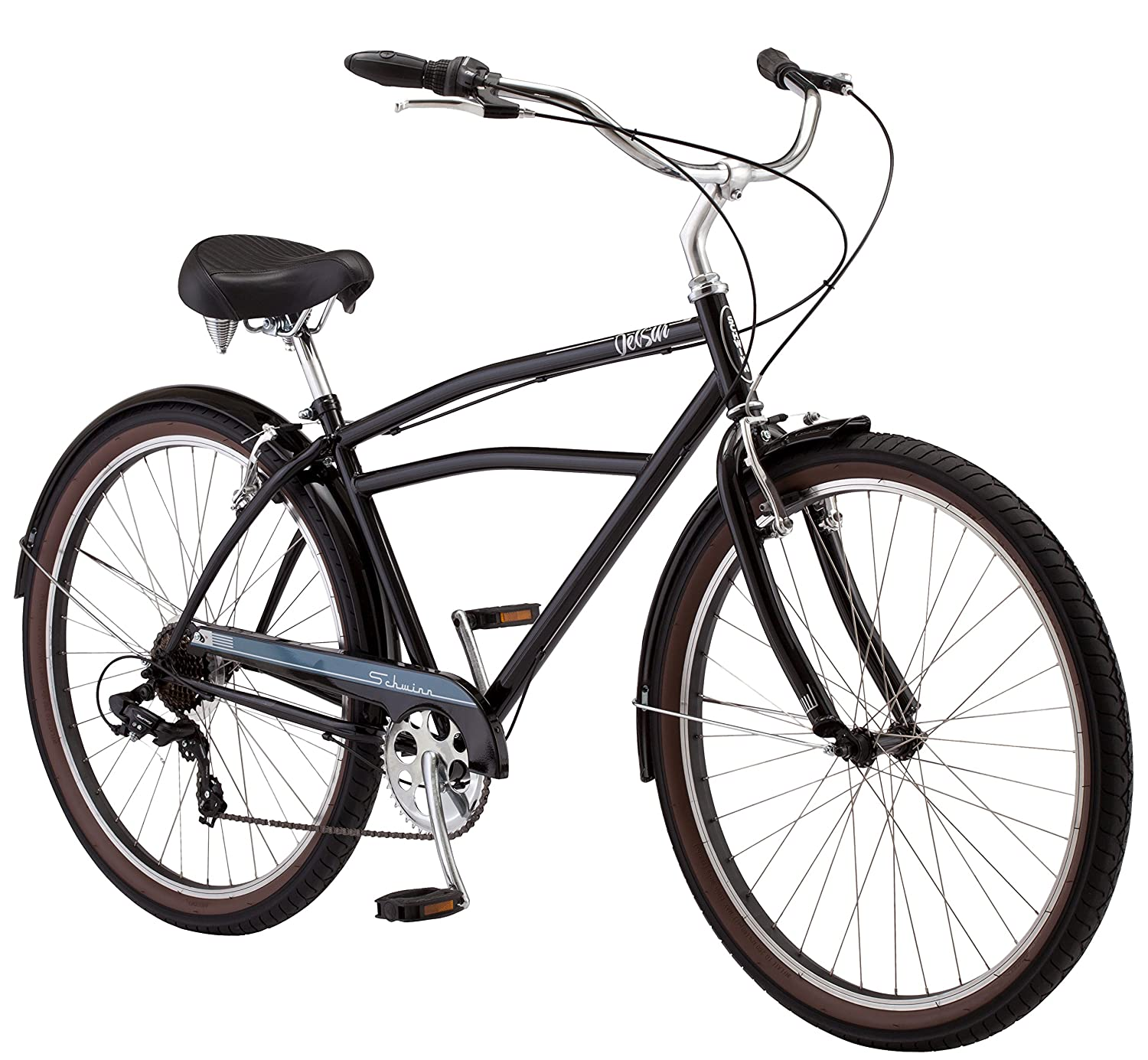 4c6b215d7f8 Amazon.com : Schwinn Del Sur Men's Cruiser Bike, 27.5