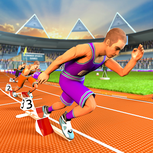 Summer Sports Games: Athletics Extreme Running, Hurdle Race, Cycle Race and High Jump Athletics Championship ()