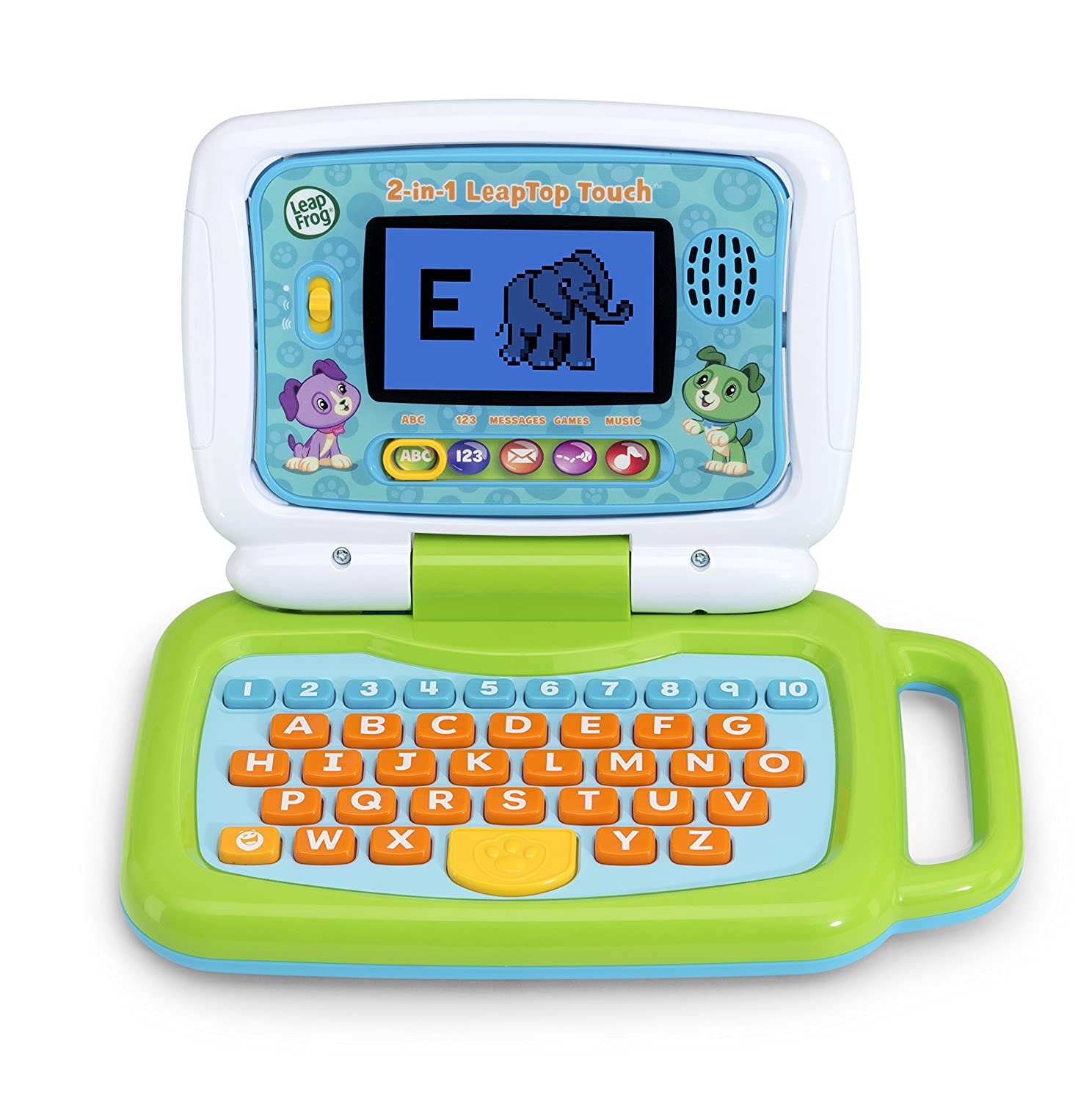 d0b2f9de441 Amazon.com  LeapFrog 2-in-1 LeapTop Touch  Toys   Games