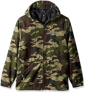 37556fb32a4e1 Amazon.com: Obey Men's Russet Parka Jacket: Clothing