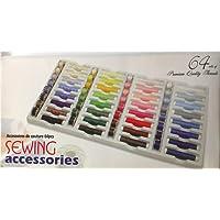 64 Trousse de couture Piece - Idéal pour Mini Machine à coudre et à main Machine à coudre