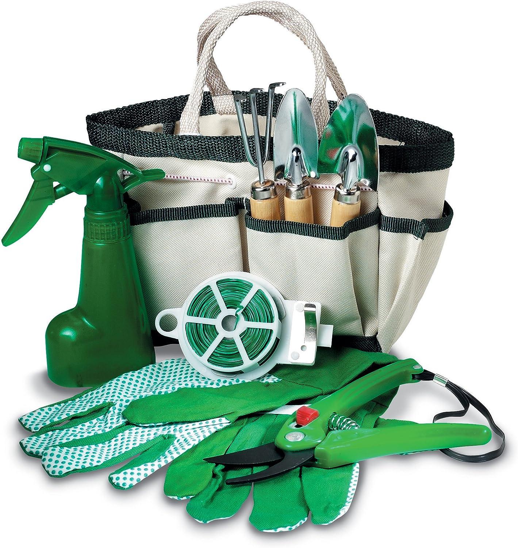 Mid Ocean marcas 8 piezas Set de herramientas para jardinería para ...