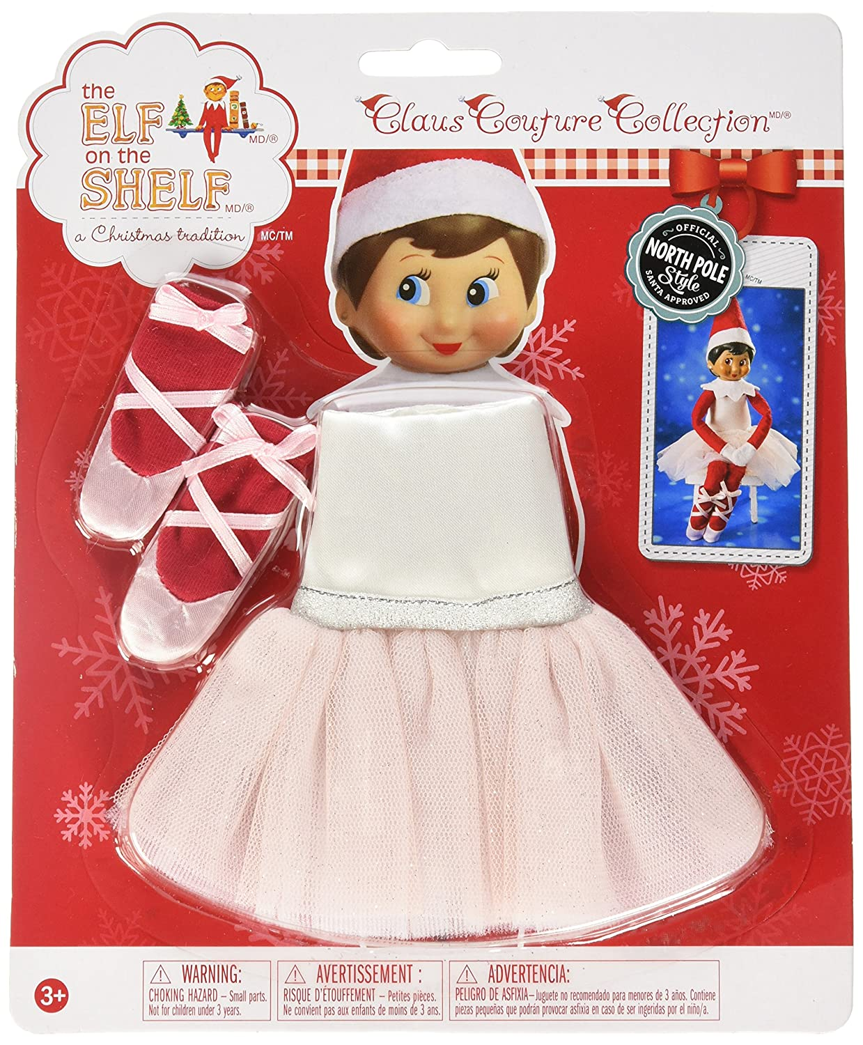 Elf on the Shelf Claus Couture Twinkle Toes Tutu CCA&B CCTWKTUTU