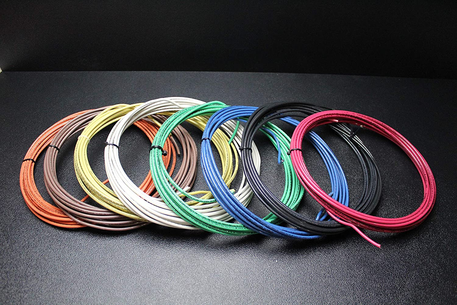 10 Gauge THHN Wire Stranded Pick 3 Colors 25 FT Each THWN 600V AWN Cable AWG