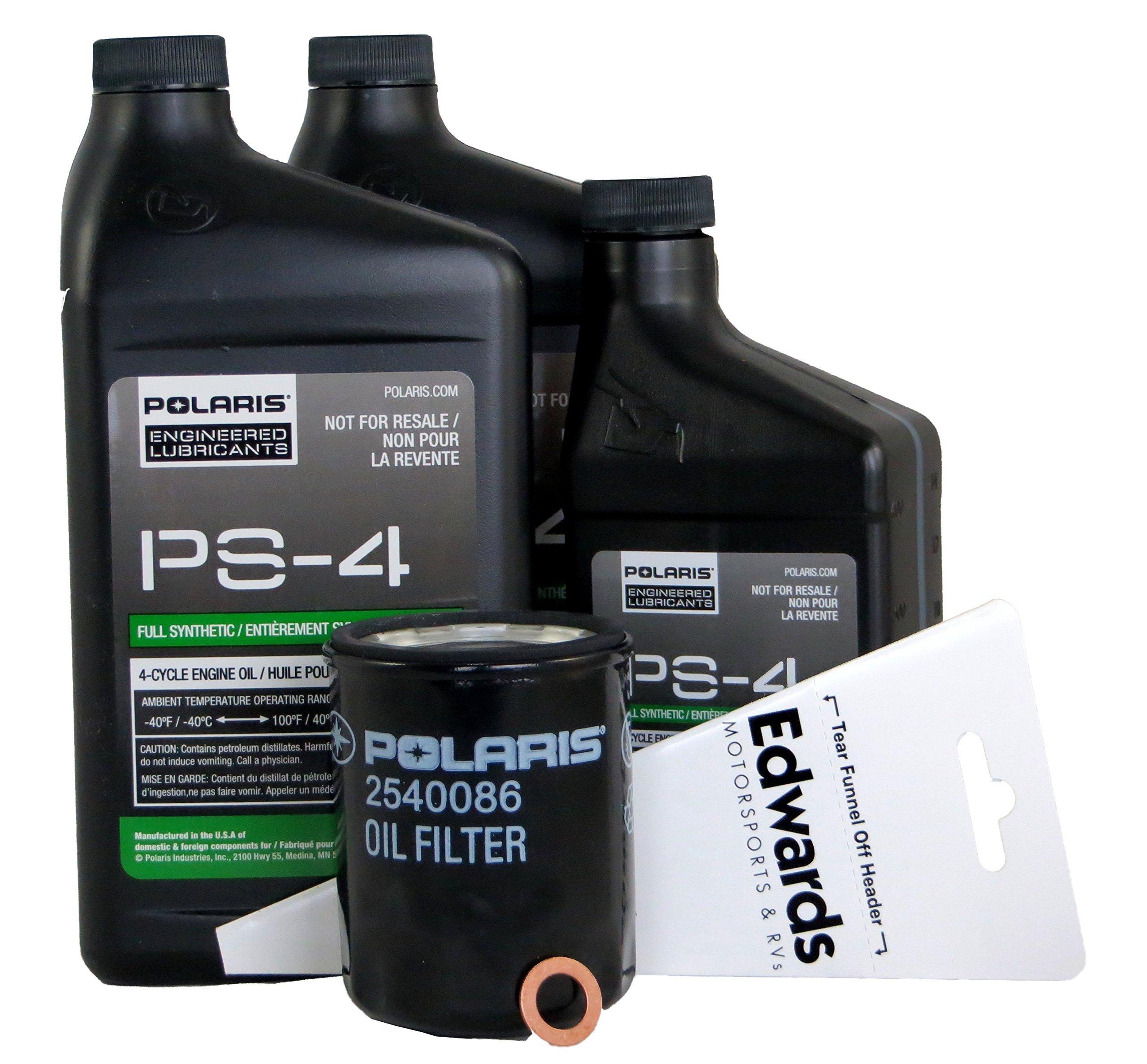 2018 POLARIS RZR XP 1000 RZR S 1000 OIL CHANGE KIT by Genuine Polaris
