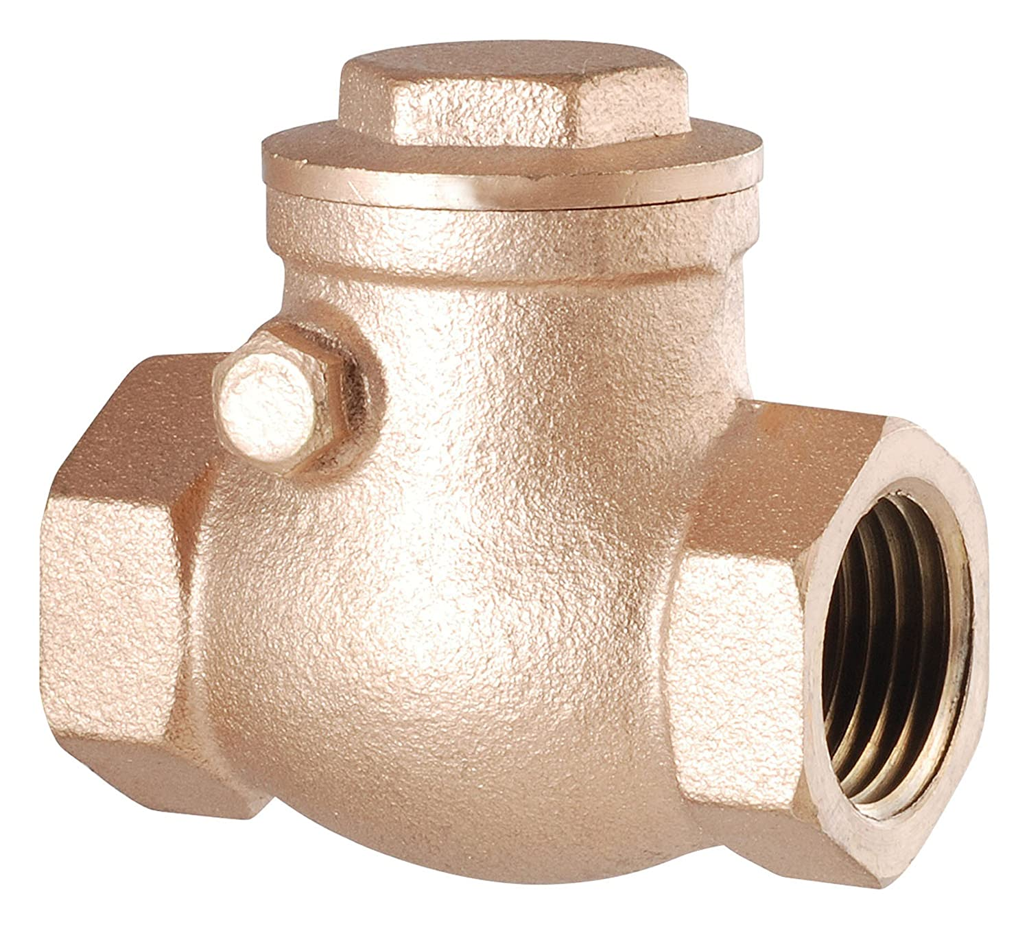 Lead Free Brass LDR 022 1244 3//4-Inch Swing Check Valve