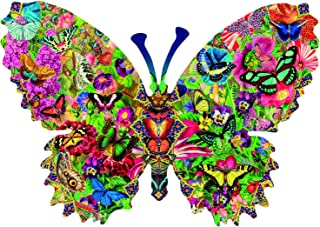 product image for Butterfly Menagerie 1000 pc Shaped Jigsaw Puzzle by SunsOut