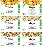 Daiya Cheezy Mac, Variety Pack :: Cheddar, Alfredo, White Cheddar Veggie :: Rich & Creamy Plant-Based Mac & Cheese :: Deliciously Dairy Free, Vegan, Gluten Free, Soy Free :: With Gluten Free Noodles (