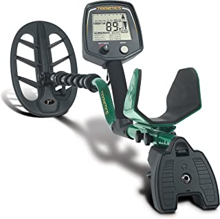 """product image for Teknetics T2 Classic Metal Detector with Waterproof 11"""" Coil and 5 Year Warranty"""