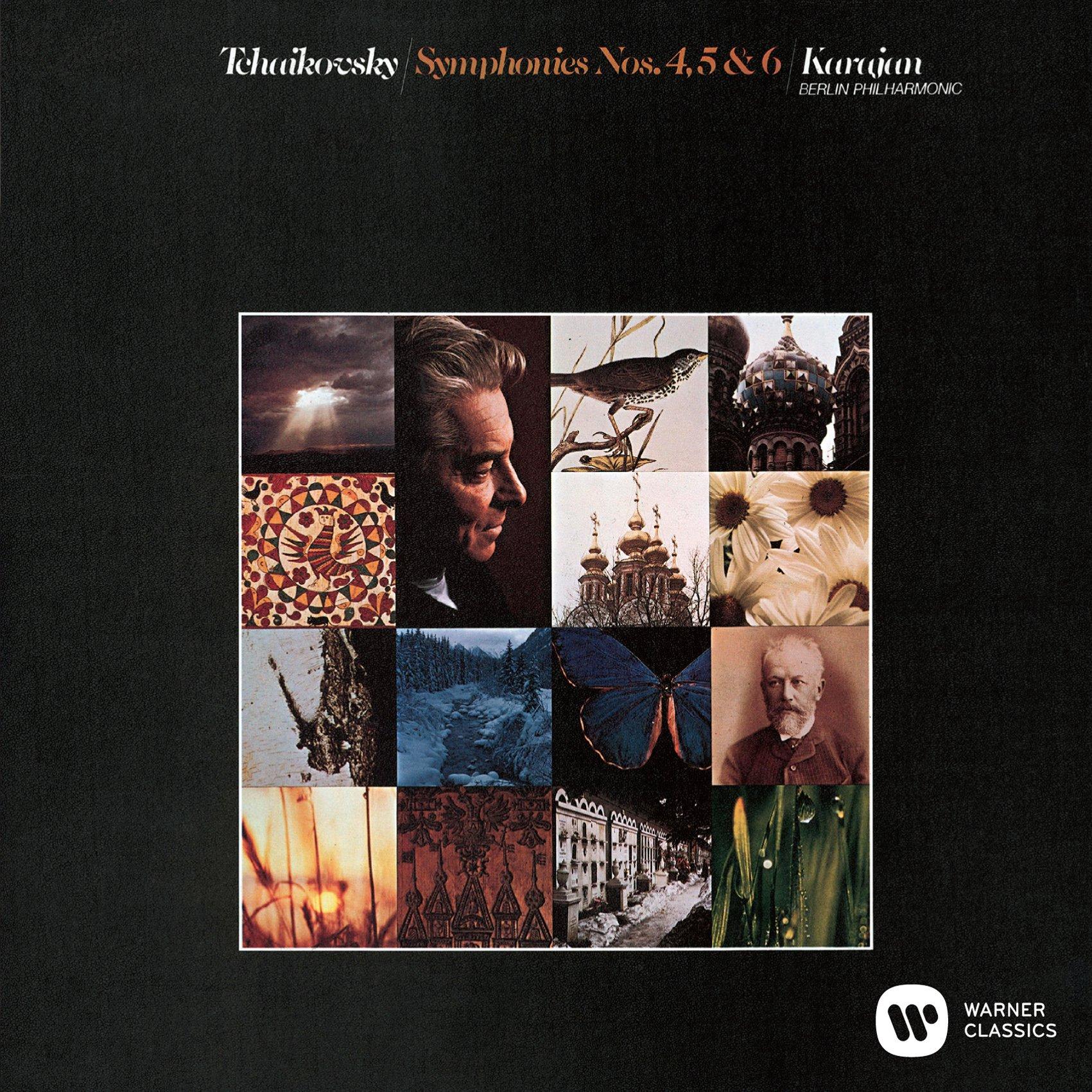 SACD : TCHAIKOVSKY / KARAJAN, HERBERT VON - Tchaikovsky: Symphonies 4 5 6 (Blu-Spec CD 2, Remastered, Japan - Import, 2PC)