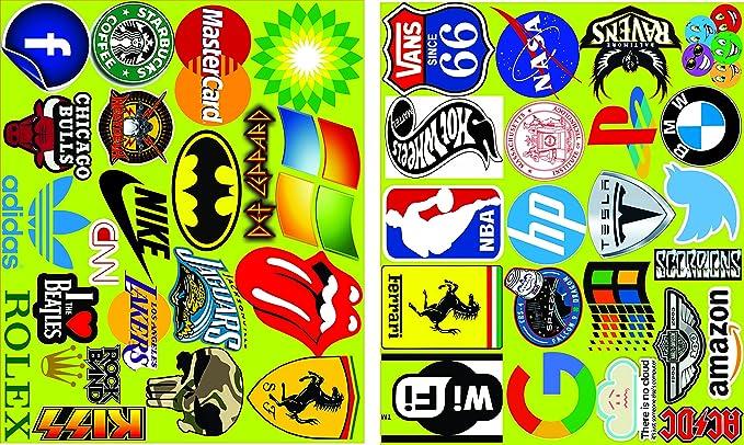 Elton 3M Vinyl Sticker Pack [40-Pcs] Plus Free Bonus