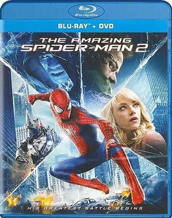 Amazoncom The Amazing Spider Man 2 Blu Raydvd Andrew Garfield