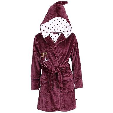 QUIDDITCH TEAM, HARRY POTTER, Ladies Soft Fleece, Hooded Dressing ...
