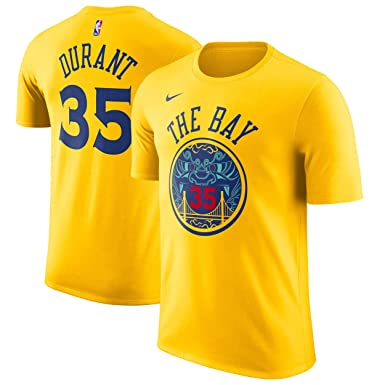 Nike NBA Golden State Warriors Kevin Durant 35 KD 2017 2018 City Edition Name & Number