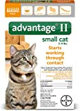 Bayer Advantage II Flea Treatment for Small Cats, 5 - 9 lb, 6 doses