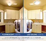"Hyperikon LED Flush Mount Ceiling Light, 10"", 65W"