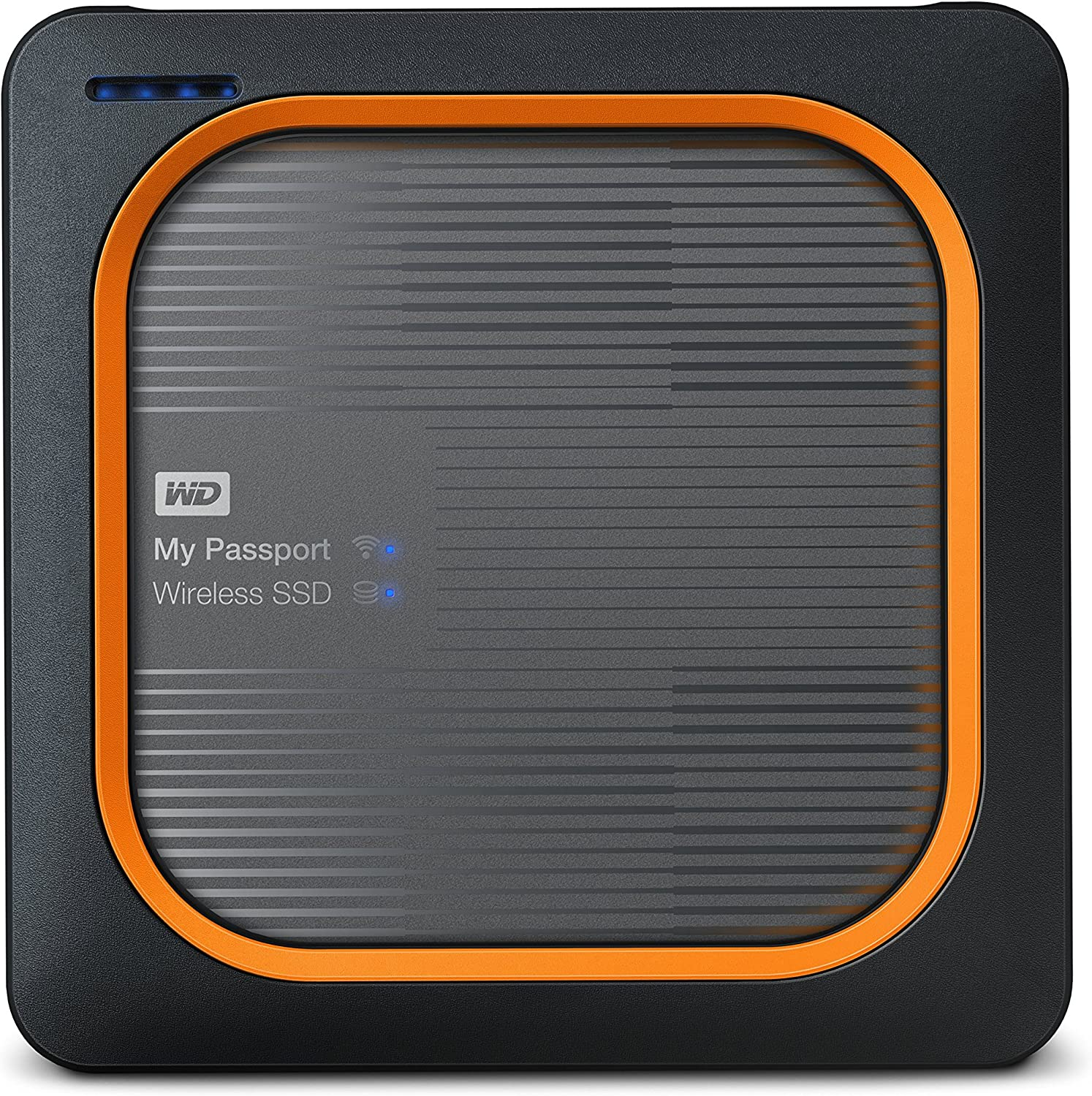 WD 250GB My Passport Wireless SSD External Portable Drive, WiFi USB 3.0, Up to 390 MB/s - WDBAMJ2500AGY-NESN