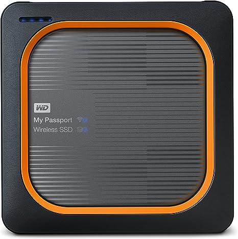 WD 1TB My Passport Wireless SSD External Portable Drive - WiFi USB 3.0 - WDBAMJ0010BGY-NESN