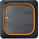 WD 500GB My Passport Wireless SSD External Portable Drive - WiFi USB 3.0 -WDBAMJ5000AGY-NESN