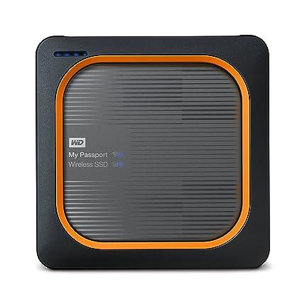 fc031bf87c3e Amazon.com: WD 1TB My Passport Wireless SSD External Portable Drive - WiFi  USB 3.0 - WDBAMJ0010BGY-NESN: Computers & Accessories