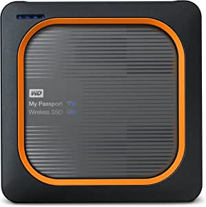 WD 500GB My Passport Wireless SSD External Portable Drive, WiFi USB 3.0, Up to 390 MB/s - WDBAMJ5000AGY-NESN