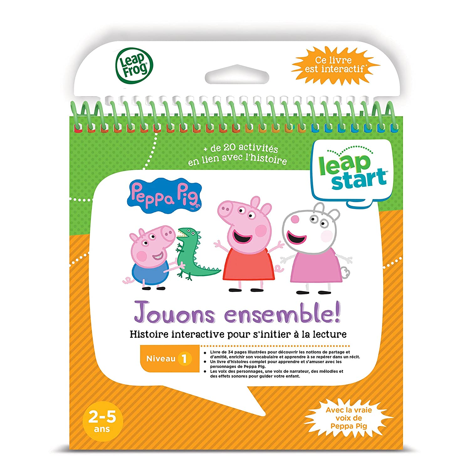 Leapfrog Leapstart Peppa Pig Playing Together Storybook French