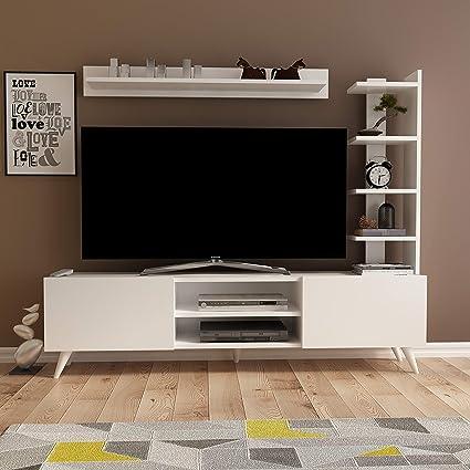Amazon Com Decorotika Vio Modern Tv Stand And Entertainment