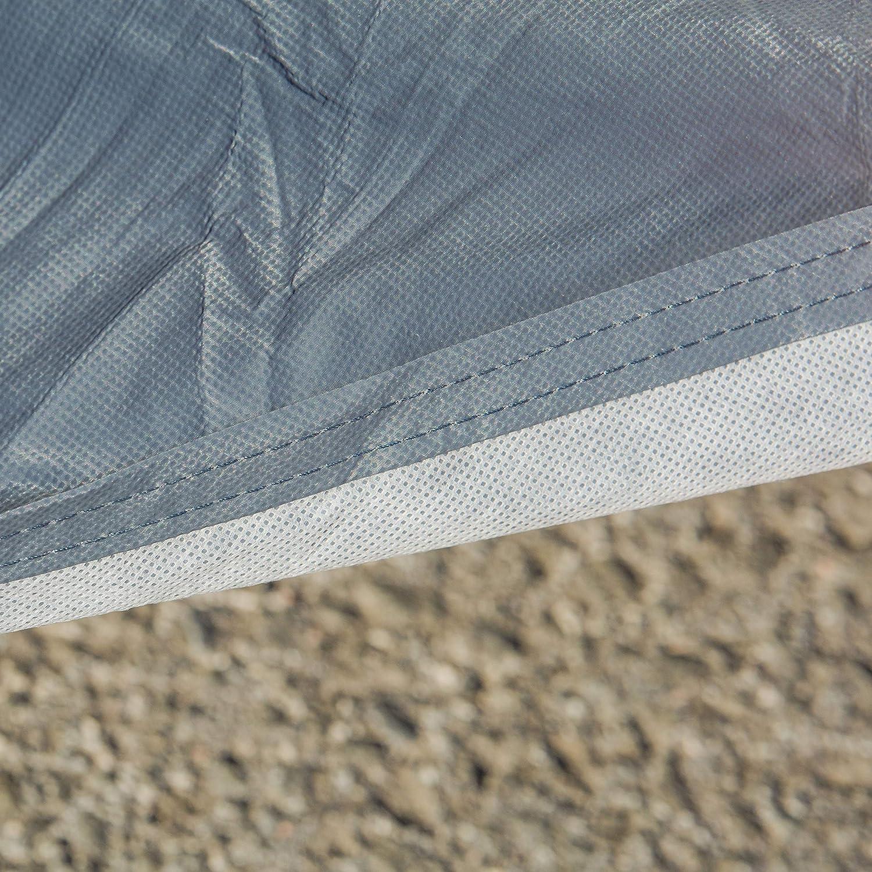 Qualit/à premium Traspirante Copriauto Copertura completa robusto M 430*165*120 cm durevole a prova di polvere e UV adattamento universale impermeabile con rivestimento interno morbido
