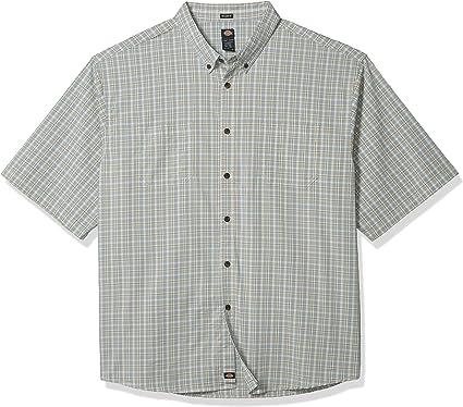 Dickies - Camisa de cuadros de manga corta con ajuste relajado: Amazon.es: Ropa y accesorios