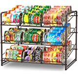 Simple Trending Can Rack Organizer, Stackable Can Storage Dispenser Holds up to 36 Cans for Kitchen Cabinet or Pantry…